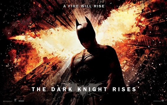 Wallpaper The Dark Knight Rises 2012 HD