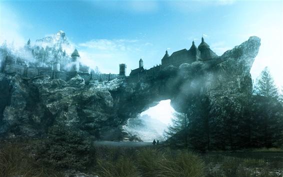 Wallpaper The Elder Scrolls V: Skyrim HD game