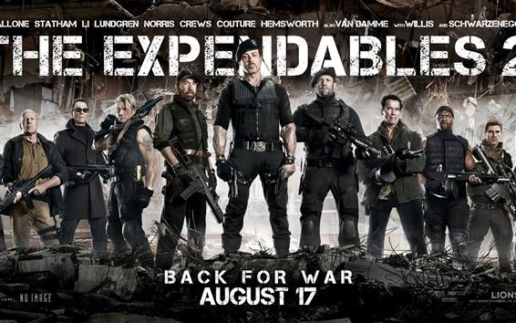 Fondos de pantalla The Expendables 2 película de 2012