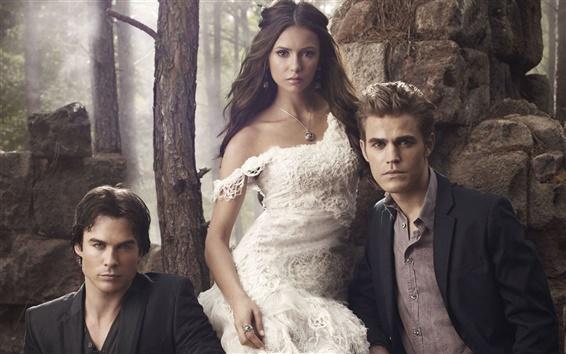 Wallpaper The Vampire Diaries TV series