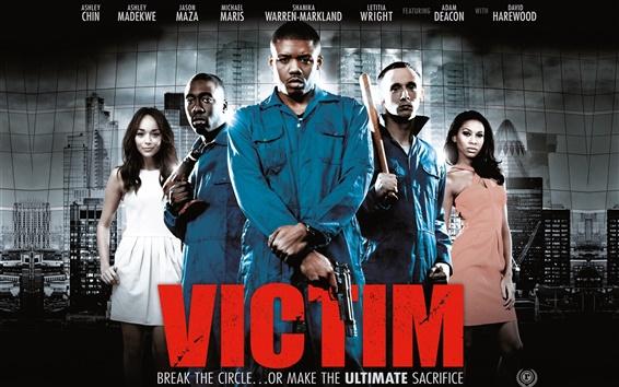 Papéis de Parede Vítima filme 2011
