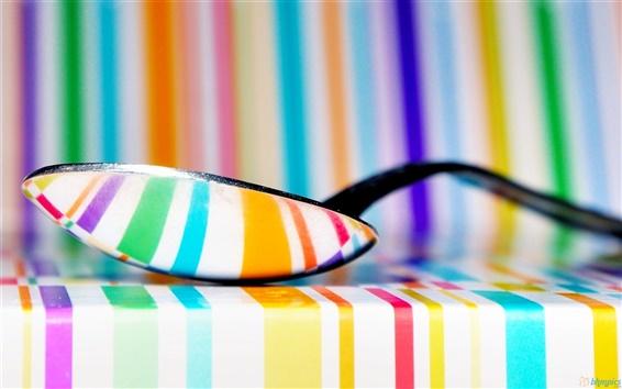 Fond d'écran Une cuillerée de couleur