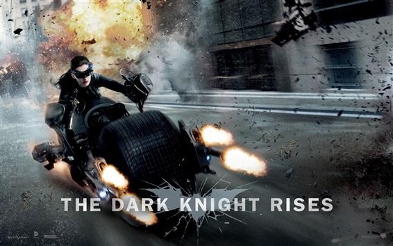 Wallpaper Anne Hathaway in The Dark Knight Rises