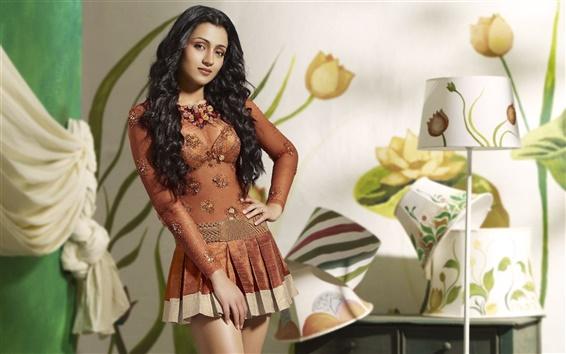Wallpaper Beautiful Indian girl
