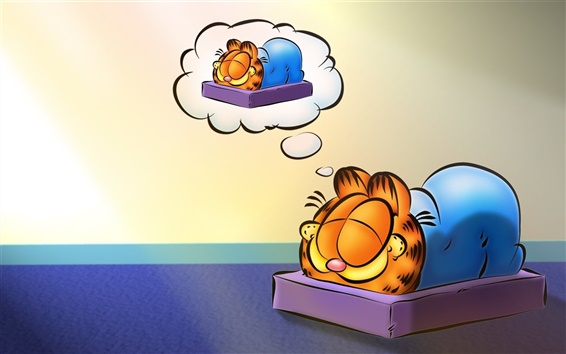 Wallpaper Cartoon star Garfield