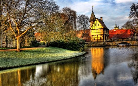 Обои Замок в Steinfurt