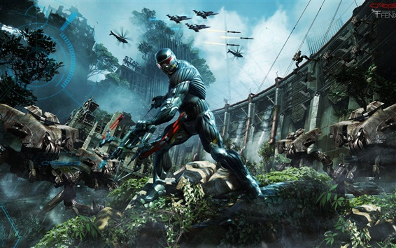Wallpaper Crysis 3 Fighters