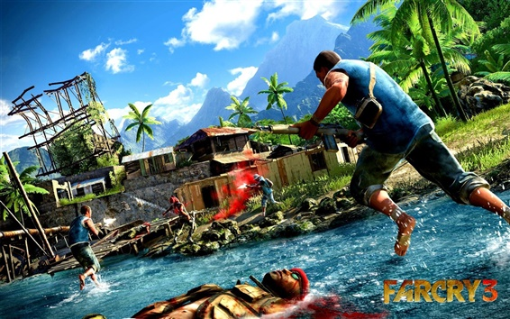 Wallpaper Far Cry 3 game 2012