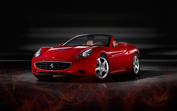 Wallpaper Ferrari advanced sports car