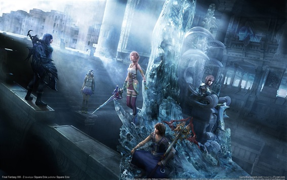 Wallpaper Final Fantasy XIII-2 PC game