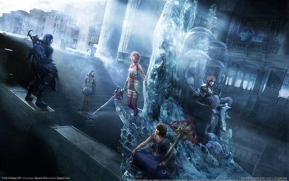 Обои Final Fantasy XIII-2 PC игры