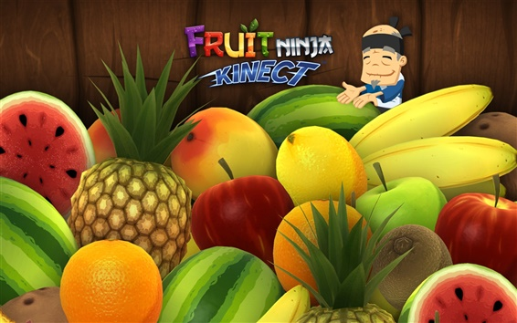 Wallpaper Fruit Ninja
