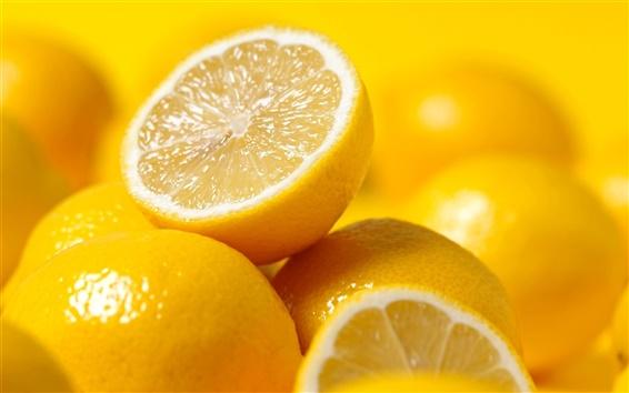 Fond d'écran citrons fruits