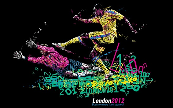 Wallpaper London 2012 Olympics, Back to where it all started