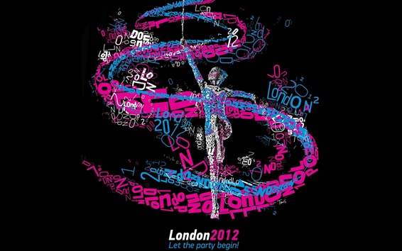 Wallpaper London 2012 Olympics, Let the party begin