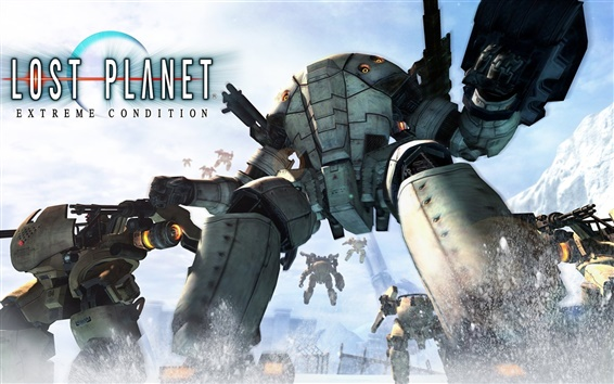 Обои Lost Planet: Extreme Condition HD