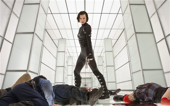 Wallpaper Milla Jovovich in Resident Evil: Retribution