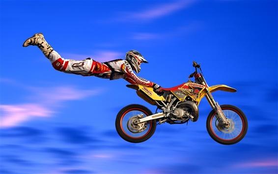 Papéis de Parede Moto corrida