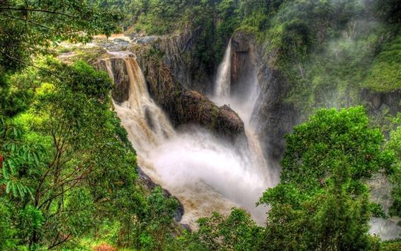 Wallpaper Nature waterfalls beauty