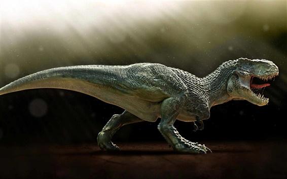 Fond d'écran Paléontologie, dinosaure carnivore