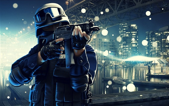 Wallpaper Point Blank online game