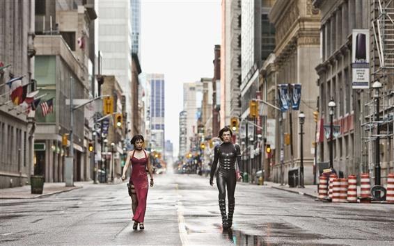 Wallpaper Resident Evil: Retribution 2012 HD