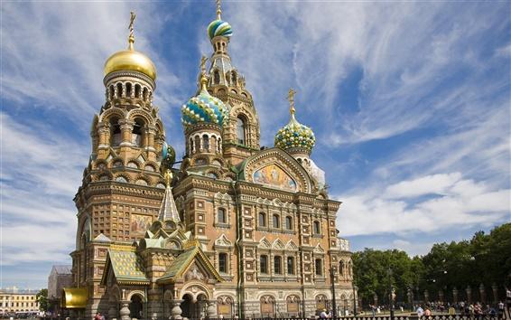 Wallpaper Savior on Spilled Blood Saint Petersburg