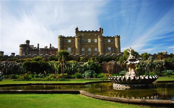 Обои Шотландия Замок Калзин