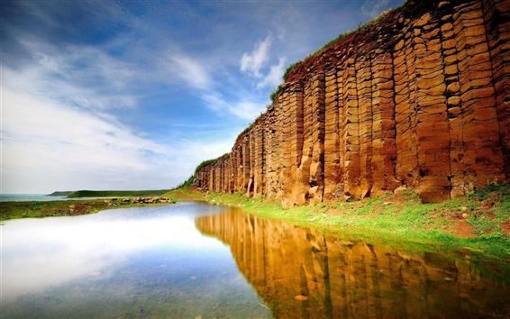 Fond d'écran Côté eau de mer du mur