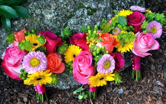 Papéis de Parede Sedutor de flores desabrochando