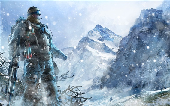 Fond d'écran Sniper: Ghost Warrior 2 de large