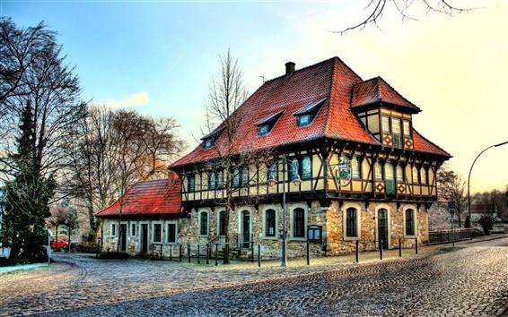 Wallpaper Steinfurt house in Germany