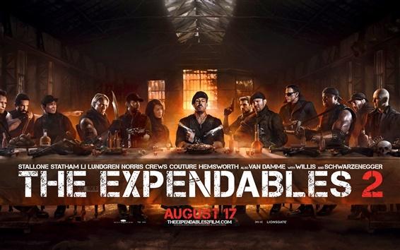 Papéis de Parede The Expendables 2 poster super-