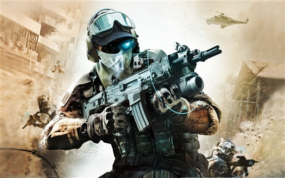 Wallpaper Tom Clancy Ghost Recon
