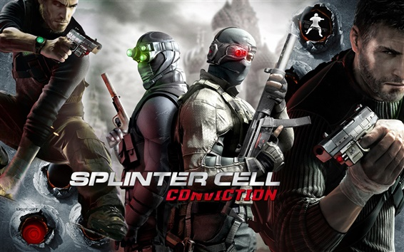Wallpaper Tom Clancy Splinter Cell: Conviction
