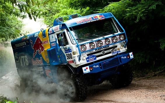Papéis de Parede caminhões KAMAZ