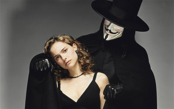 Wallpaper V for Vendetta HD