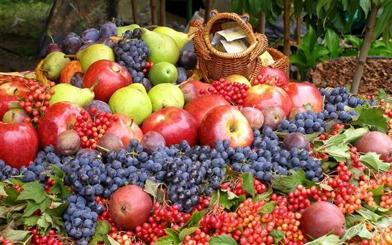 Wallpaper Variety of fruits