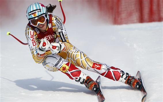 Wallpaper Winter sports Ski