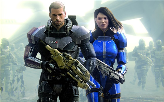 Wallpaper 2012 Mass Effect 3