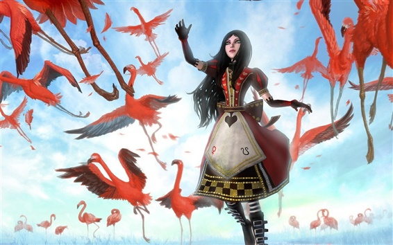 Wallpaper 2012 game Alice: Madness Returns