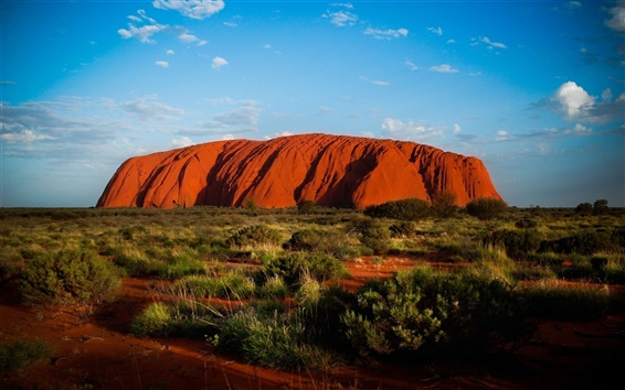 Wallpaper Ayers Rock in Australia