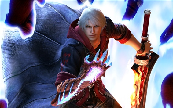 Wallpaper Devil May Cry 4 PC game