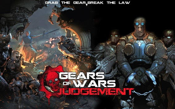 Wallpaper Gears of War: Judgment HD