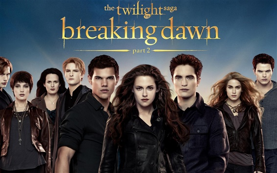 Wallpaper The Twilight Saga: Breaking Dawn - Part 2