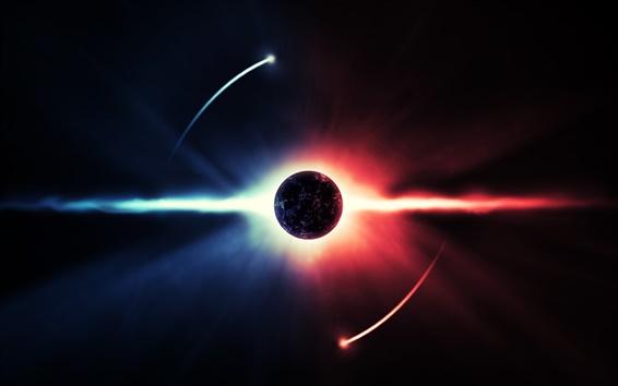 Обои Свет планете энергетическое пространство