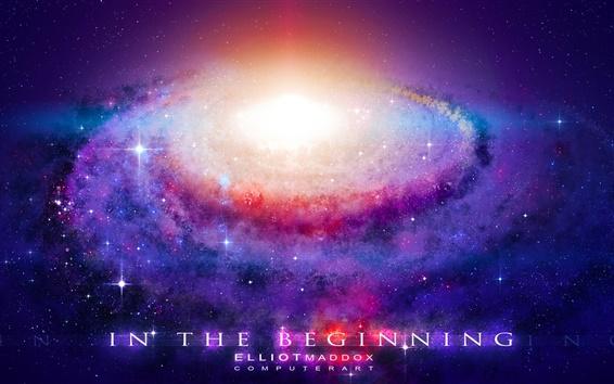 Fond d'écran La puissante énergie du Big Bang