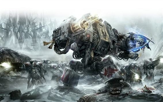 Wallpaper Warhammer 40000: Space Marine HD