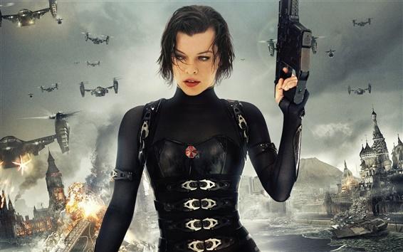 Fondos de pantalla 2012 película Resident Evil 5: Retribution, Milla Jovovich