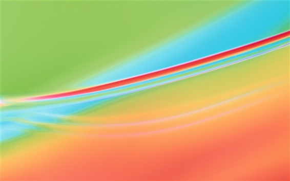 Wallpaper Abstract background, red and blue background curve